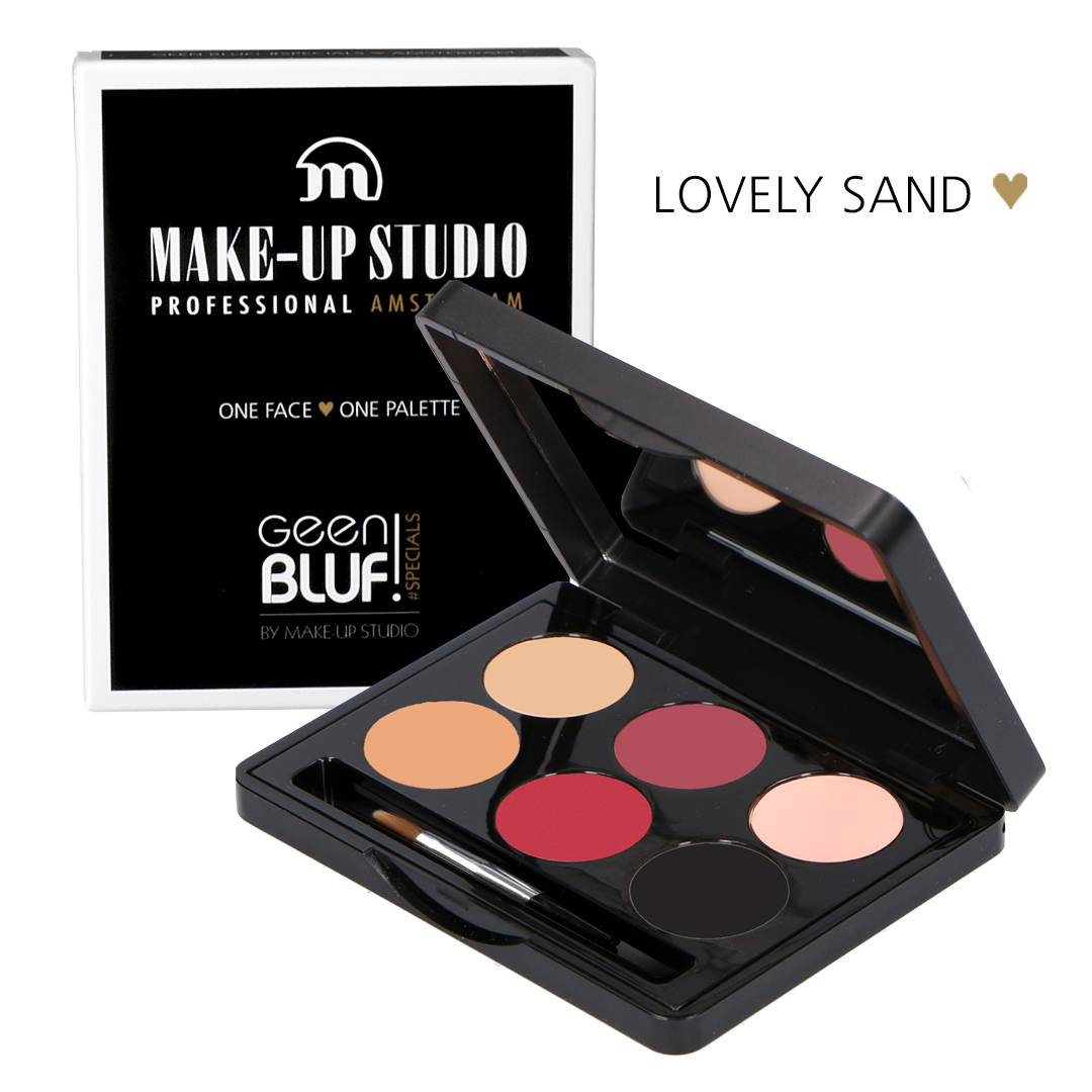 One Face One Palette  - Lovely Sand