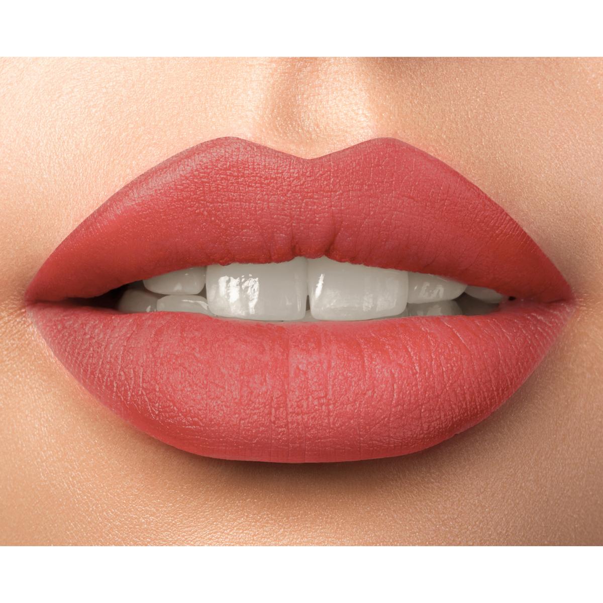 Matte Silk Effect Lip Duo Lipstick - Charming Coral