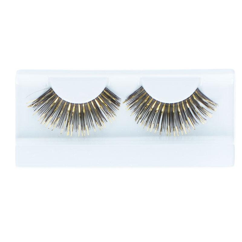 Lashes Glitter & Glamour Black & Gold