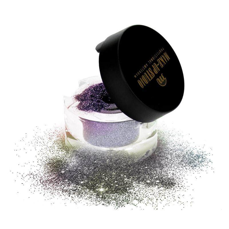 Cosmetic Glimmer Effects Eyeshadow - Dark Multicolour